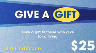 Gift Certificate GIFTC25S30829 STDC30829